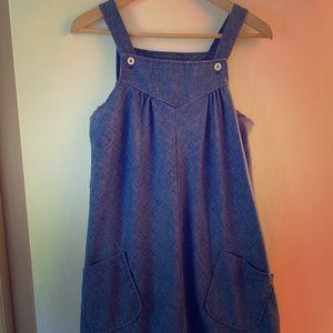Vintage smock dress, size L